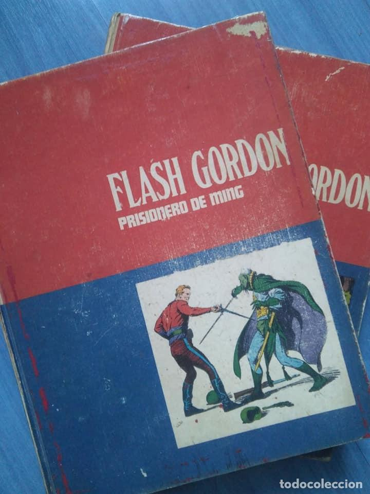 FLASH GORDON. PRISIONERO DE MING Y LA REINA DESIRA. TOMOS 1 Y 2 BURU LAN, 1971 (Tebeos y Comics - Buru-Lan - Flash Gordon)