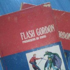 Cómics: FLASH GORDON. PRISIONERO DE MING Y LA REINA DESIRA. TOMOS 1 Y 2 BURU LAN, 1971. Lote 190353121