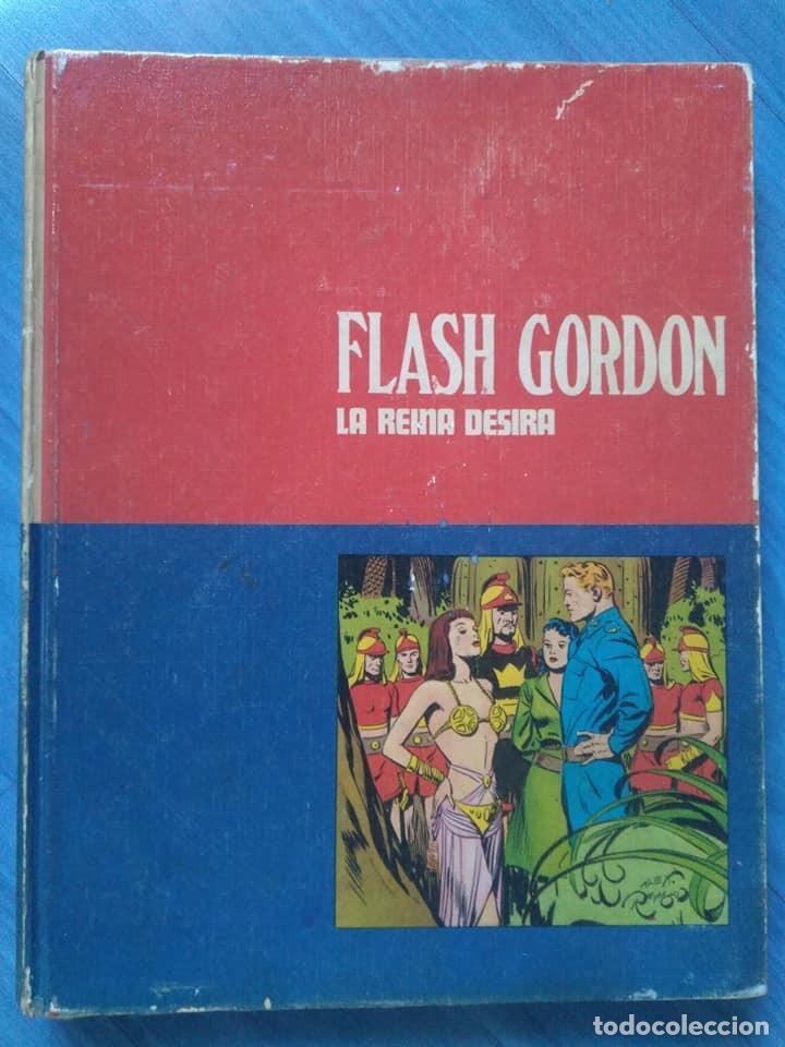 Cómics: Flash Gordon. Prisionero de Ming y La reina Desira. Tomos 1 y 2 Buru Lan, 1971 - Foto 2 - 190353121