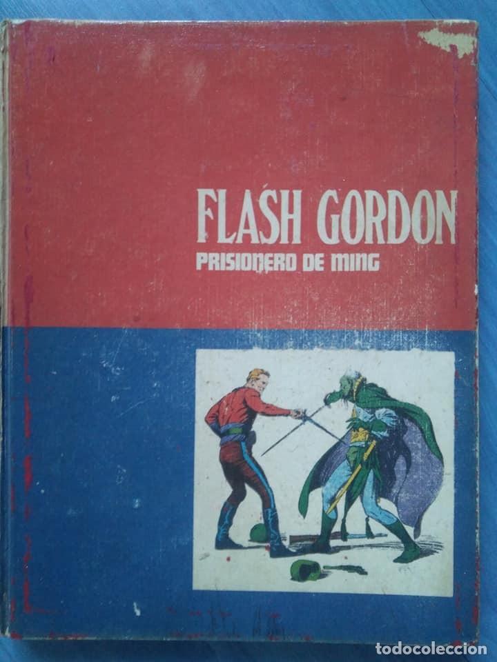 Cómics: Flash Gordon. Prisionero de Ming y La reina Desira. Tomos 1 y 2 Buru Lan, 1971 - Foto 3 - 190353121