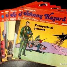 Cómics: JOHNNY HAZARD (BURU LAN, 1973) DE FRANK ROBBINS. COMPLETA: 11 NÚMEROS. Lote 190779788