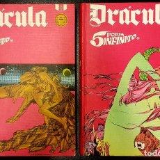 Comics: DRÁCULA: 5 X INFINITO. 2 TOMOS. COMPLETA. (BURU LAN, 1972) DE ESTEBAN MAROTO. Lote 190780167