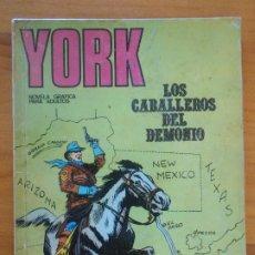 Comics : YORK Nº 3 - LOS CABALLEROS DEL DEMONIO - EDICIONES BURU LAN - LEER DESCRIPCION (6R). Lote 190856001