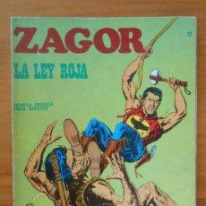 Cómics: ZAGOR Nº 12 - LA LEY ROJA - BURU LAN (7Y). Lote 190916108