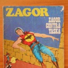 Cómics: ZAGOR Nº 13 - ZAGOR CONTRA YASKA - BURU LAN (7Y). Lote 190916190