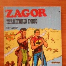 Cómics: ZAGOR Nº 26 - TERRITORIO INDIO - BURU LAN (7Y). Lote 190916491