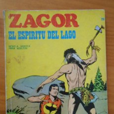 Cómics: ZAGOR Nº 29 - EL ESPIRITU DEL LAGO - BURU LAN (7Y). Lote 190916658