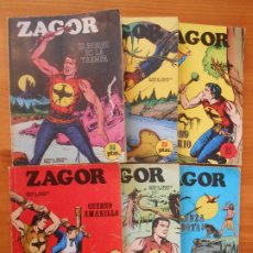 Cómics: ZAGOR - Nº 1 A 6 - EDICIONES BURU LAN (7A). Lote 190916727