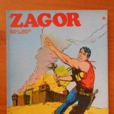 Cómics: ZAGOR Nº 33 - EL FUERTE ABANDONADO - BURU LAN (7Y). Lote 190917741