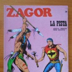 Cómics: ZAGOR Nº 34 - LA PISTA - BURU LAN (7Y). Lote 190917821
