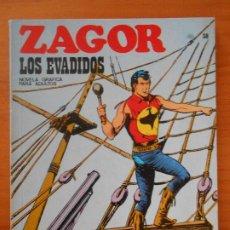 Comics : ZAGOR Nº 38 - LOS EVADIDOS - BURU LAN (7D). Lote 190918430