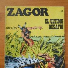 Comics : ZAGOR Nº 46 - EL ULTIMO DESAFIO - BURU LAN (7D). Lote 190918941