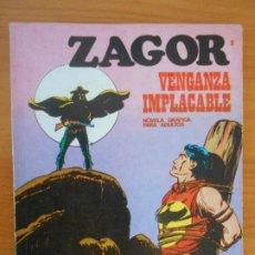 Comics : ZAGOR Nº 8 - VENGANZA IMPLACABLE - BURU LAN - LEER DESCRIPCION (6Y). Lote 191044238