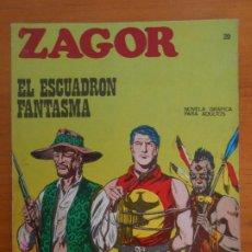 Cómics: ZAGOR Nº 20 - EL ESCUADRON FANTASMA - BURU LAN - LEER DESCRIPCION (7B). Lote 191145687