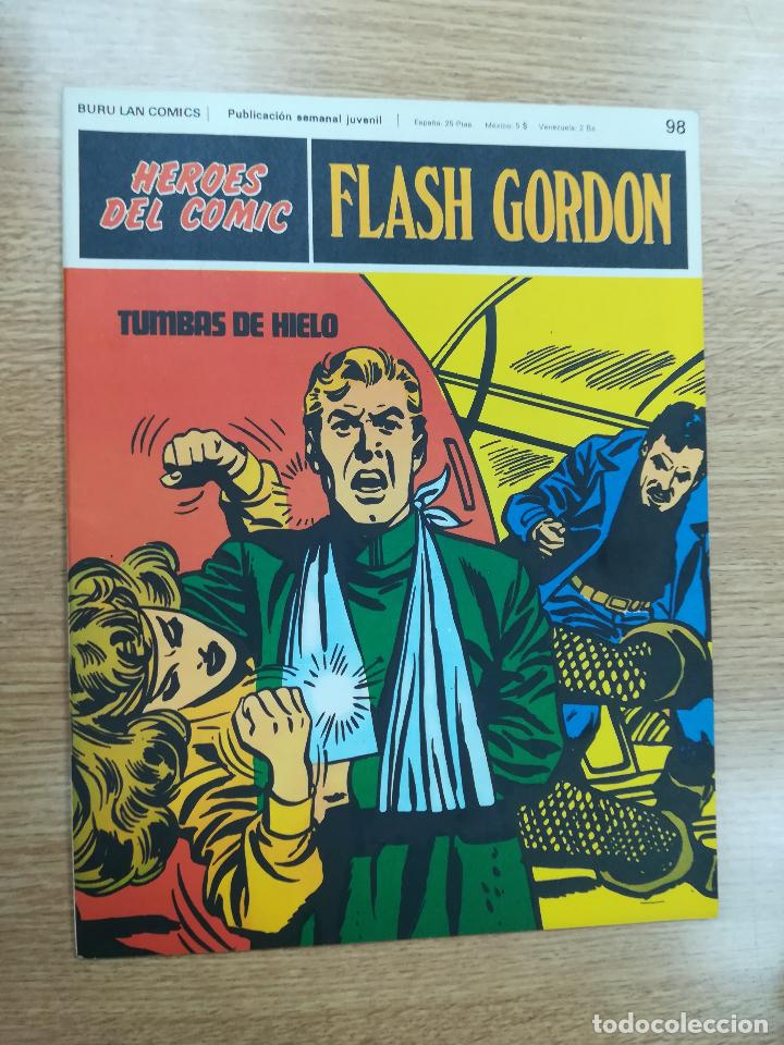 FLASH GORDON #98 (Tebeos y Comics - Buru-Lan - Flash Gordon)