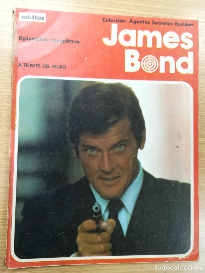 JAMES BOND A TRAVES DEL MURO (COLECCIÓN AGENTES SECRETOS BURULAN) (Tebeos y Comics - Buru-Lan - James Bond)