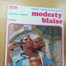 Cómics: MODESTY BLAISE LA BARRA (COLECCIÓN AGENTES SECRETOS BURULAN). Lote 191295933