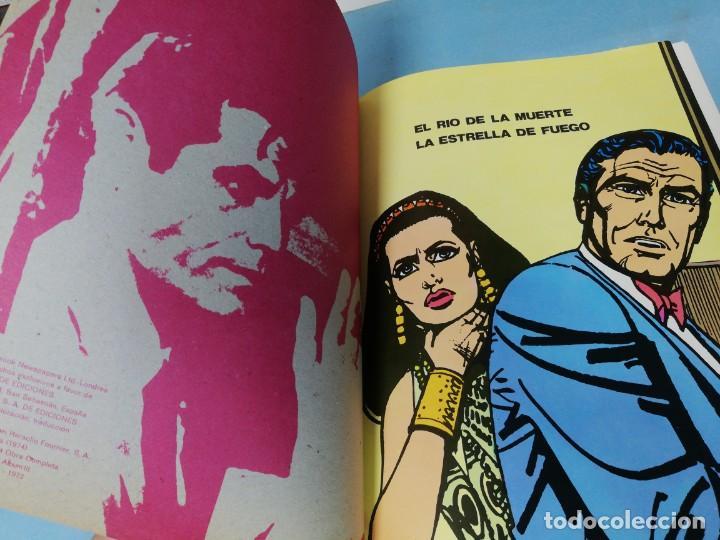 Cómics: James Bond. El río de la muerte. Colección Agentes Secretos Burulan. - Foto 3 - 191569300