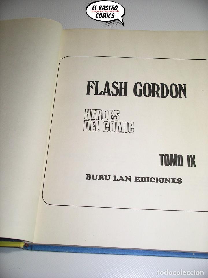 Cómics: Flash Gordon tomo nº IX 9, La ciudad perdida, ed. Burulan año 1973, 6A - Foto 4 - 191714172