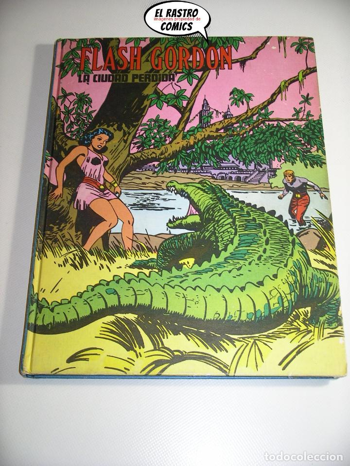 FLASH GORDON TOMO Nº IX 9, LA CIUDAD PERDIDA, ED. BURULAN AÑO 1973, 6A (Tebeos y Comics - Buru-Lan - Flash Gordon)