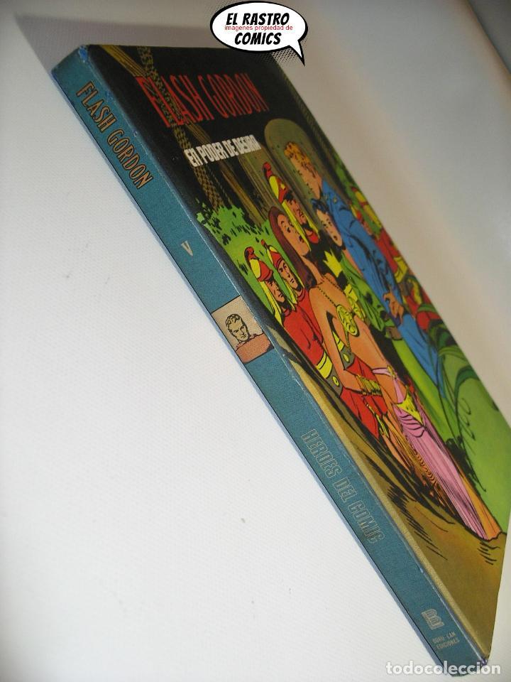 Cómics: Flash Gordon tomo nº V 5, En poder de Desira, ed. Burulan año 1972, 6A - Foto 3 - 191715202