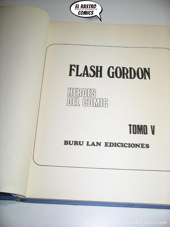 Cómics: Flash Gordon tomo nº V 5, En poder de Desira, ed. Burulan año 1972, 6A - Foto 4 - 191715202