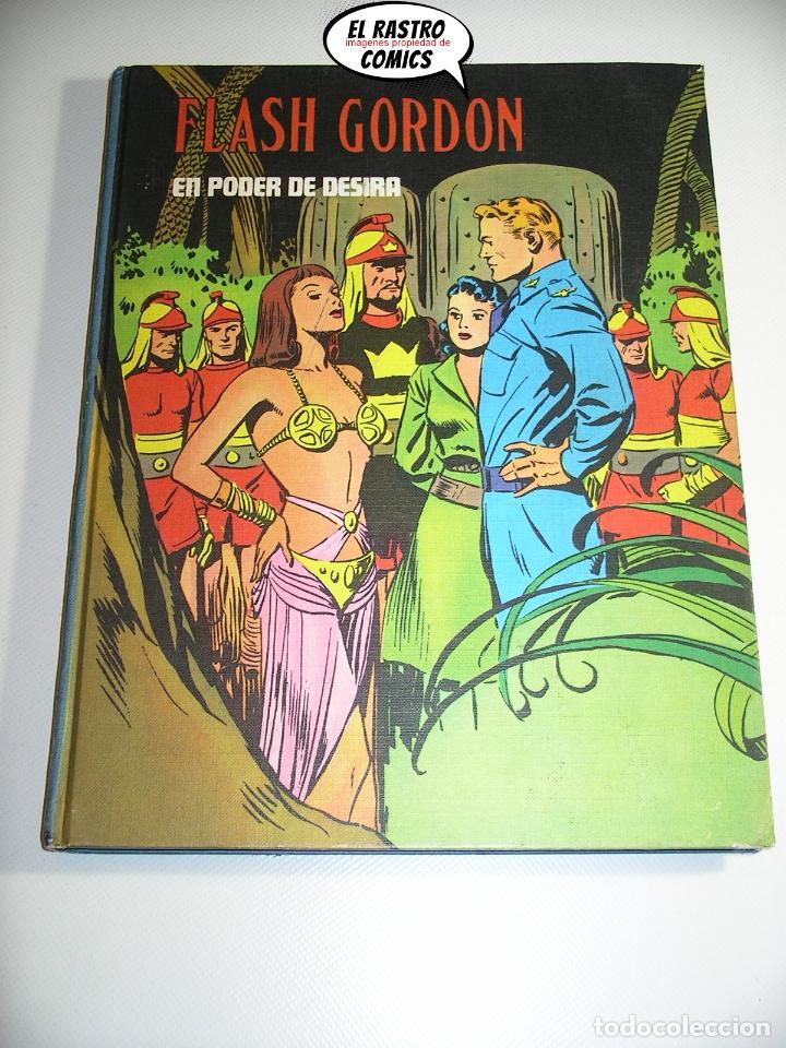 FLASH GORDON TOMO Nº V 5, EN PODER DE DESIRA, ED. BURULAN AÑO 1972, 6A (Tebeos y Comics - Buru-Lan - Flash Gordon)