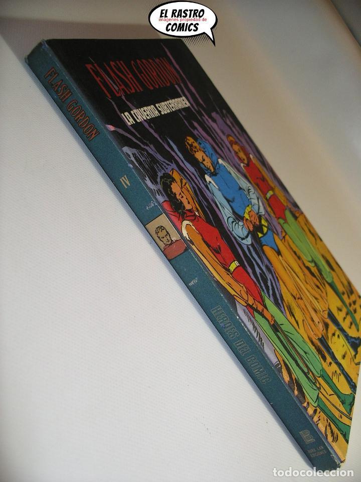 Cómics: Flash Gordon tomo nº IV 4, La caverna subterránea, ed. Burulan año 1972, 6A - Foto 3 - 191716188