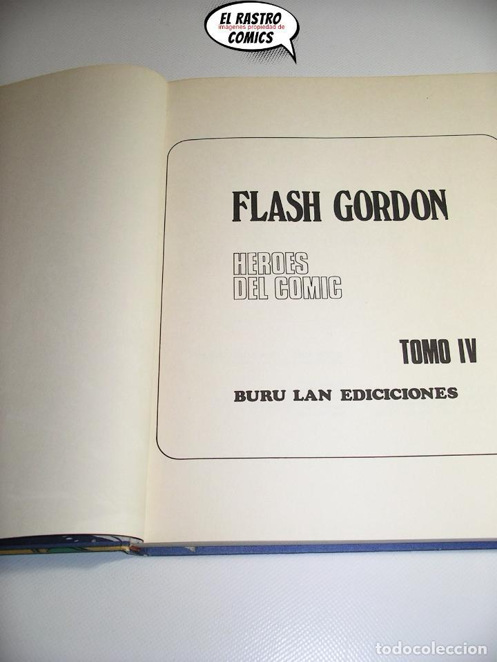 Cómics: Flash Gordon tomo nº IV 4, La caverna subterránea, ed. Burulan año 1972, 6A - Foto 4 - 191716188