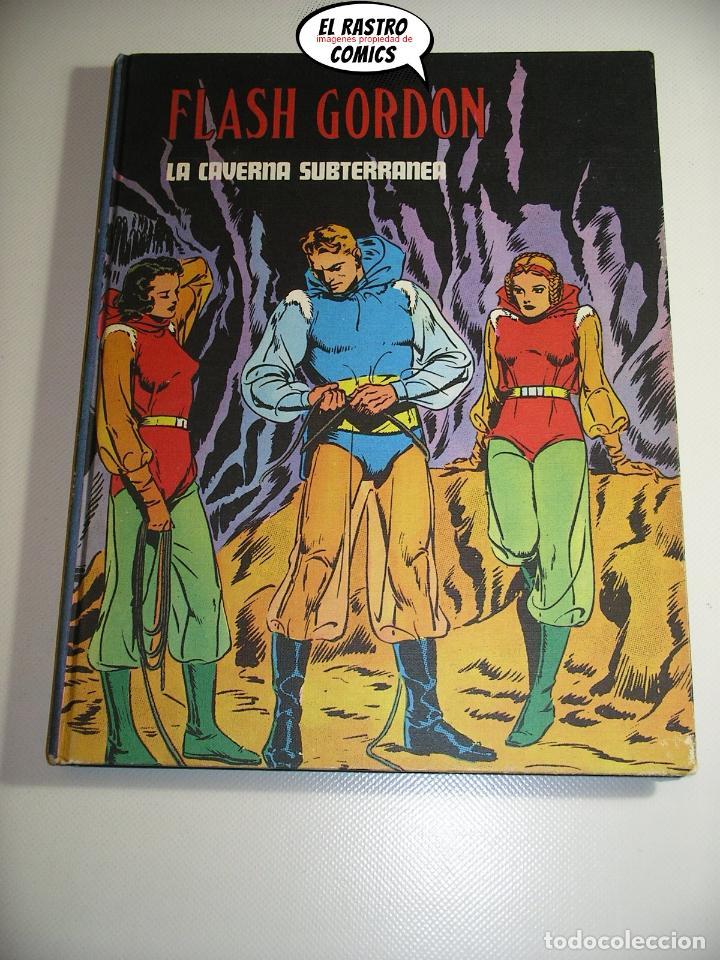 FLASH GORDON TOMO Nº IV 4, LA CAVERNA SUBTERRÁNEA, ED. BURULAN AÑO 1972, 6A (Tebeos y Comics - Buru-Lan - Flash Gordon)