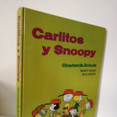 Cómics: CARLITOS Y SNOOPY - SCHULZ - VERSIÓN INTEGRA DE LA PELÍCULA - BURU LAN 1971. Lote 191765133