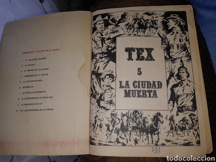 Cómics: TEBEOS-COMICS CANDY - TEX 5 - PRIMERA EDICIÓN- BURU LAN - AA97 - Foto 2 - 191778378