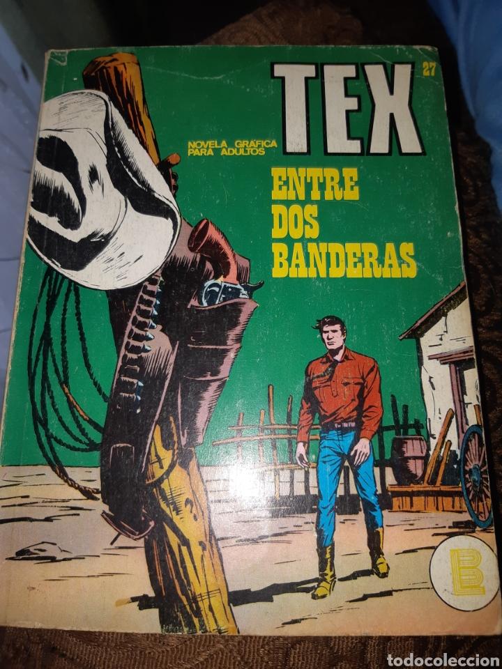 TEBEOS-COMICS CANDY - TEX 27 - BURU LAN - AA97 (Tebeos y Comics - Buru-Lan - Tex)