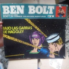 Cómics: COMIC BEN BOLT BAJO LAS GARRAS DE HAGGLEY Nº2 BURU LAN GRAFICAS UREZBEA,RENTERIA 1973. Lote 191816633