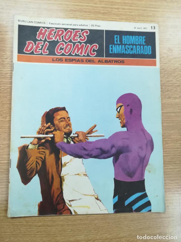 EL HOMBRE ENMASCARADO #13 (Tebeos y Comics - Buru-Lan - Hombre Enmascarado)