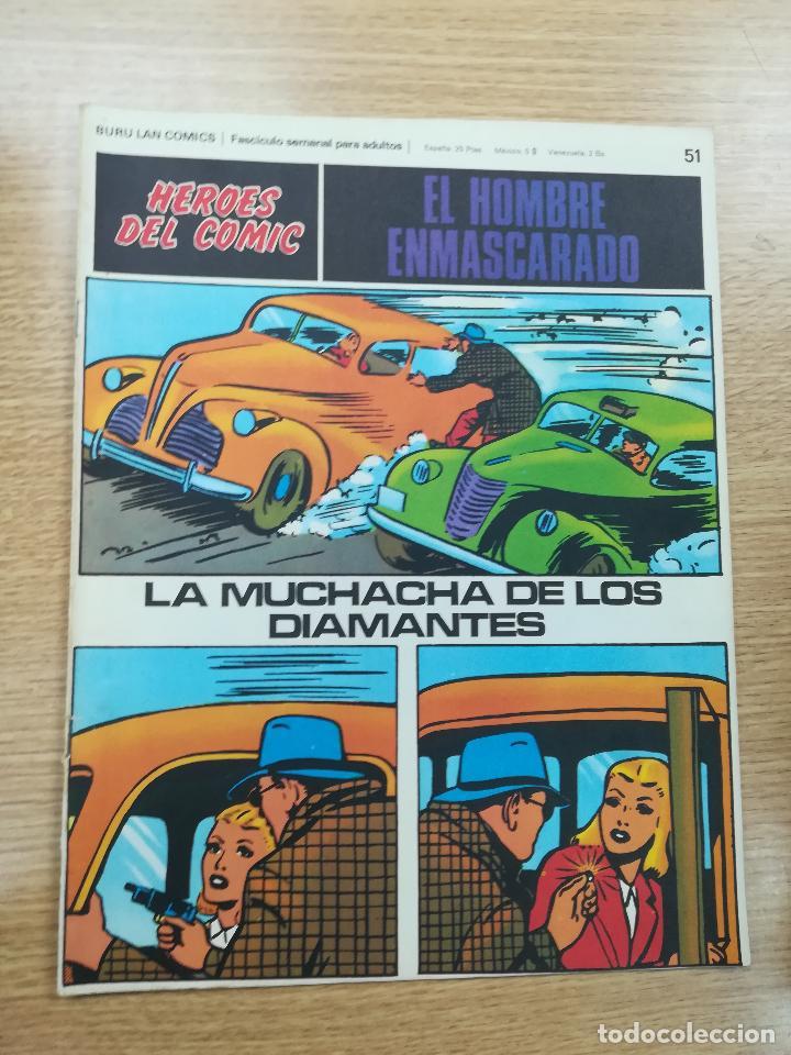 EL HOMBRE ENMASCARADO #51 (Tebeos y Comics - Buru-Lan - Hombre Enmascarado)