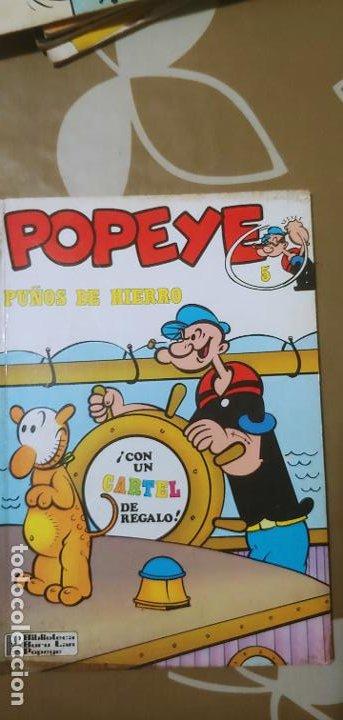 Cómics: Lote de Popeye nº 1-2-3-4-5 Buru Lan Completos pero sin carteles - Foto 3 - 192091720