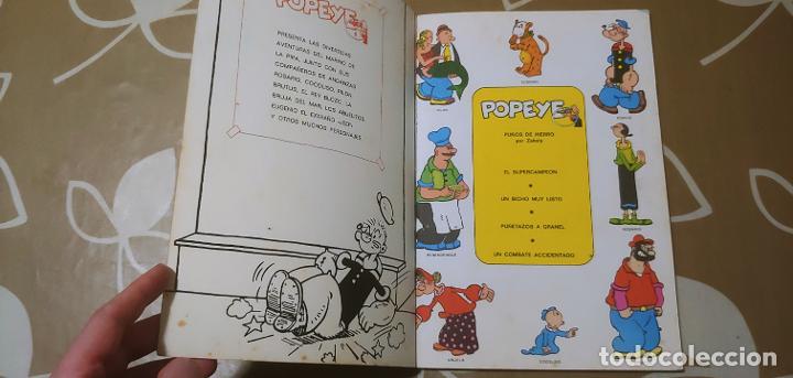 Cómics: Lote de Popeye nº 1-2-3-4-5 Buru Lan Completos pero sin carteles - Foto 5 - 192091720