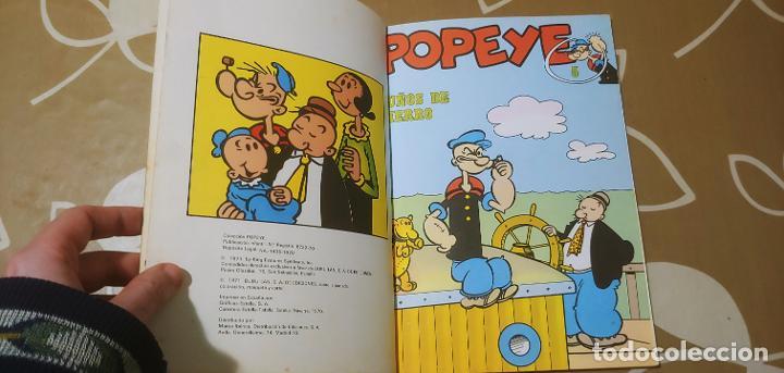 Cómics: Lote de Popeye nº 1-2-3-4-5 Buru Lan Completos pero sin carteles - Foto 6 - 192091720