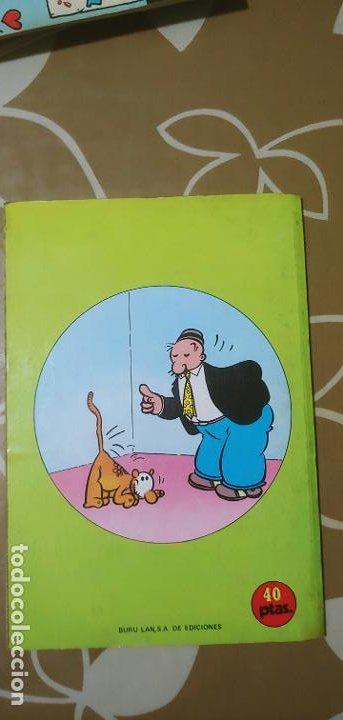 Cómics: Lote de Popeye nº 1-2-3-4-5 Buru Lan Completos pero sin carteles - Foto 9 - 192091720