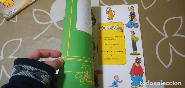 Cómics: Lote de Popeye nº 1-2-3-4-5 Buru Lan Completos pero sin carteles - Foto 12 - 192091720