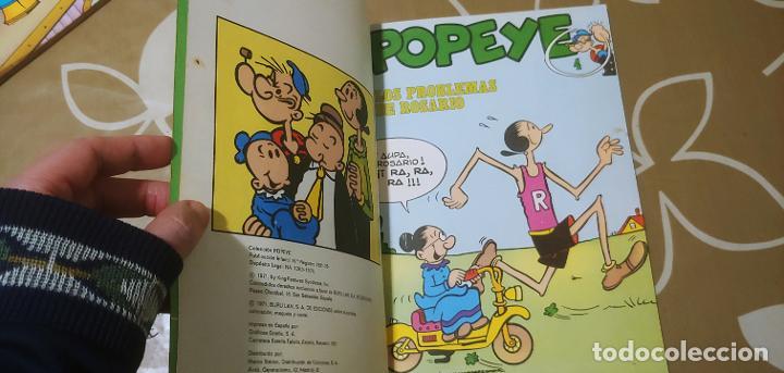 Cómics: Lote de Popeye nº 1-2-3-4-5 Buru Lan Completos pero sin carteles - Foto 13 - 192091720