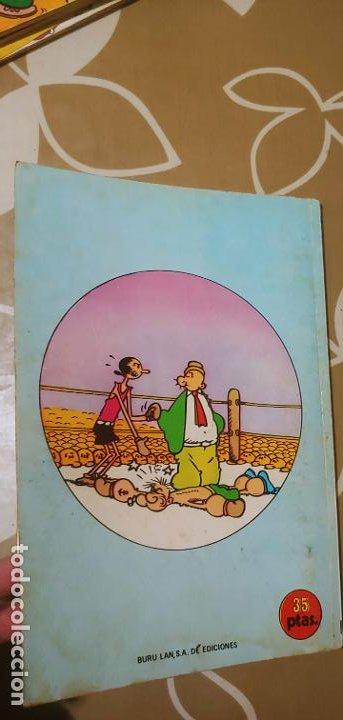 Cómics: Lote de Popeye nº 1-2-3-4-5 Buru Lan Completos pero sin carteles - Foto 16 - 192091720
