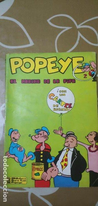 Cómics: Lote de Popeye nº 1-2-3-4-5 Buru Lan Completos pero sin carteles - Foto 23 - 192091720