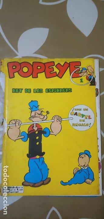 Cómics: Lote de Popeye nº 1-2-3-4-5 Buru Lan Completos pero sin carteles - Foto 28 - 192091720