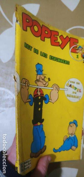 Cómics: Lote de Popeye nº 1-2-3-4-5 Buru Lan Completos pero sin carteles - Foto 29 - 192091720