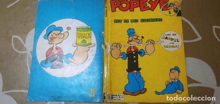 Cómics: Lote de Popeye nº 1-2-3-4-5 Buru Lan Completos pero sin carteles - Foto 32 - 192091720