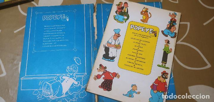 Cómics: Lote de Popeye nº 1-2-3-4-5 Buru Lan Completos pero sin carteles - Foto 33 - 192091720