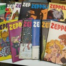 Cómics: ZEPPELIN / COMPLETA 12 NÚMEROS / BURU LAN 1973. Lote 192177597