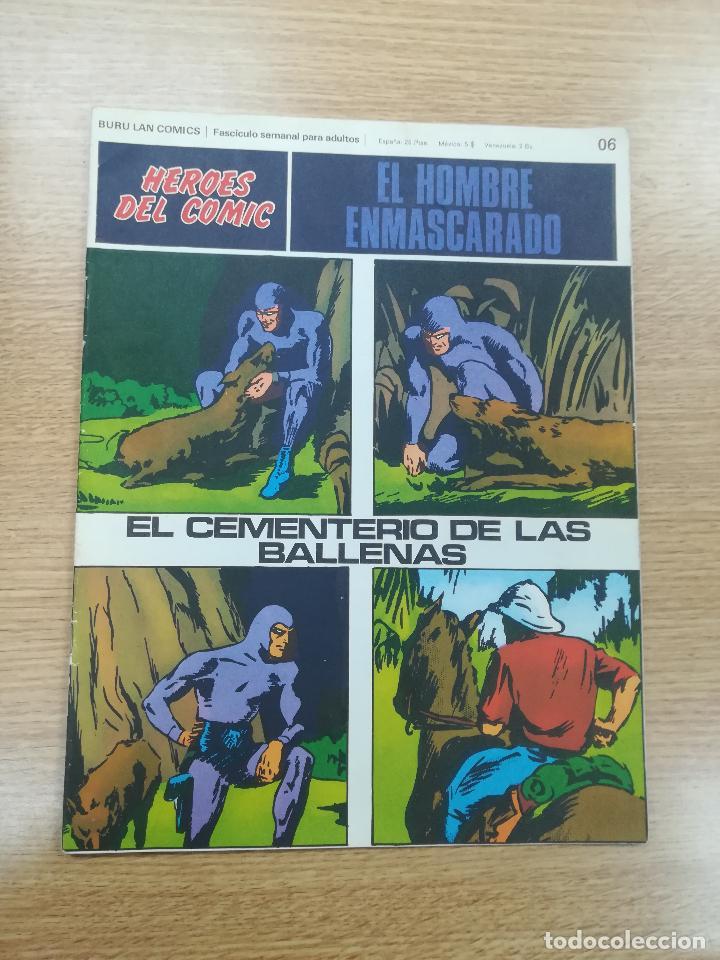 EL HOMBRE ENMASCARADO #06 (Tebeos y Comics - Buru-Lan - Hombre Enmascarado)